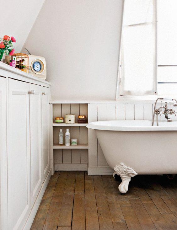 La Fabrique à Déco: Baignoires sur pieds et salle de bain ...