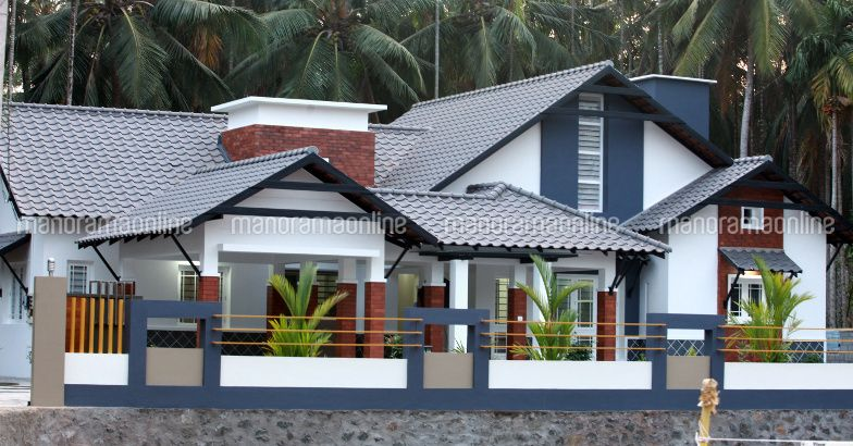 3 Bedroom Beautiful Truss Roof Home With 2500 Sqft For 30 Lakhs Free Kerala Home Plans