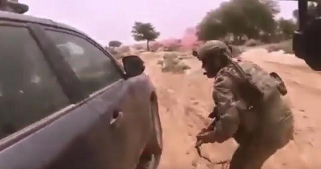 VIDEO; Muestra el momento exacto en que militares estadounidenses son atacados por el ISIS en Nigeria y mueren 4