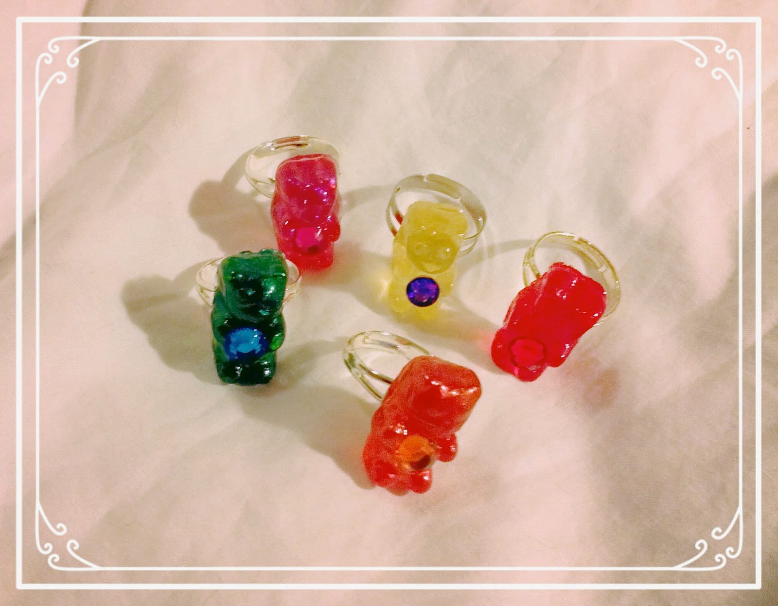 NEW Gummy Bear Rings