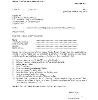 Download Form Cv Lamaran Kerja