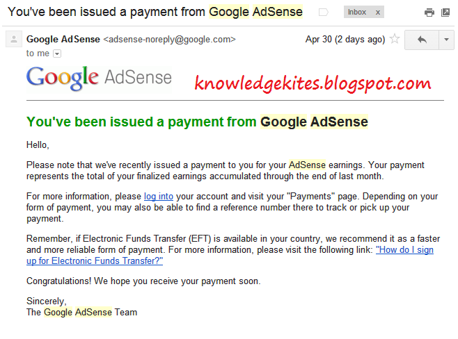 Google adsense payee name change for unsupported country