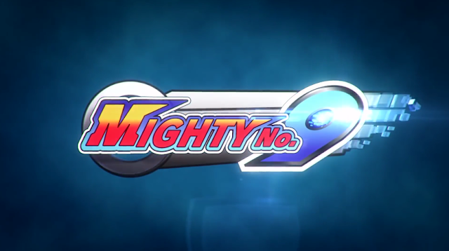 Mighty Number Nine logo No. 9
