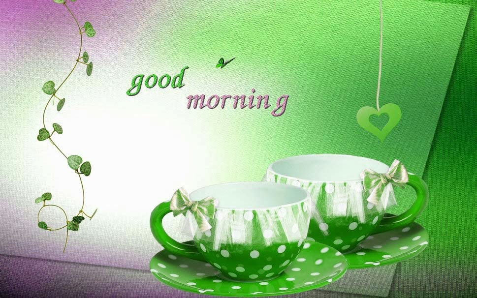 good-morning-wallpaper-hd-green-color