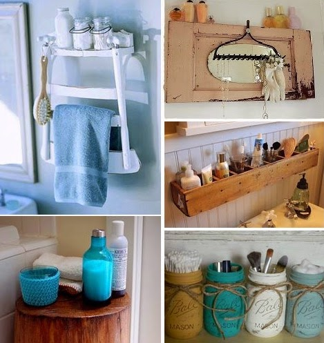 30+ DIY Ιδέες για το Μπάνιο