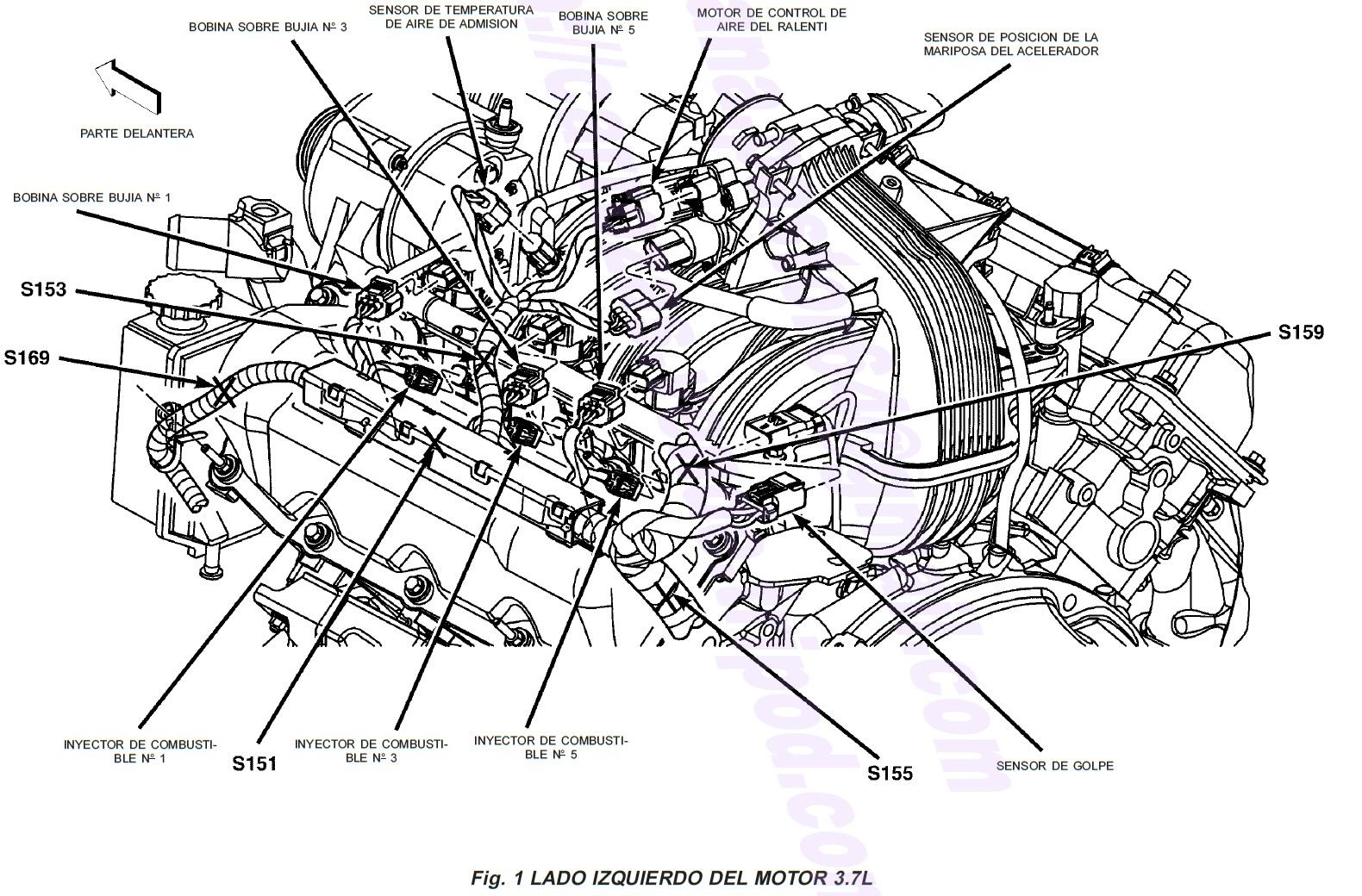 orden de encendido 4 cilindros