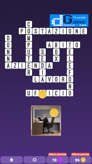 Soluzioni One Clue Crossword livello 12 schemi 3 (Cruciverba illustrato)  | Parole e foto