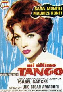 Mi último tango (1960) Comedia musical con Sara Montiel