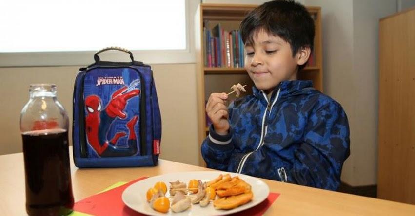 Sepa qué alimentos deben contener loncheras escolares para evitar males de invierno