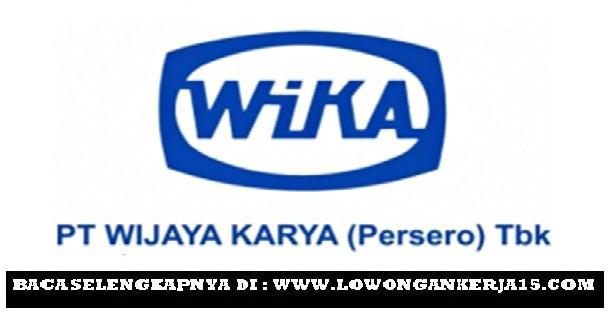 Seleksi Lowongan Kerja PT Wijaya Karya (Persero) Semarang dan Surabaya