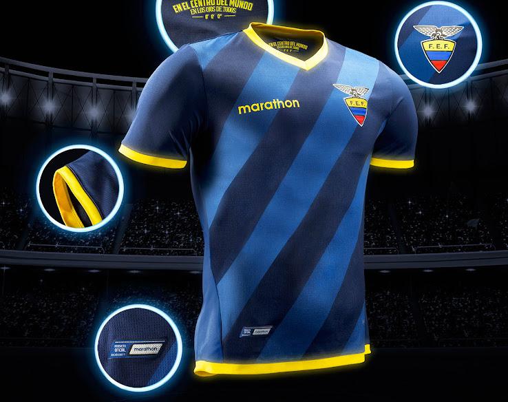 camiseta ecuador fase de clasificación copa del mundo 2018