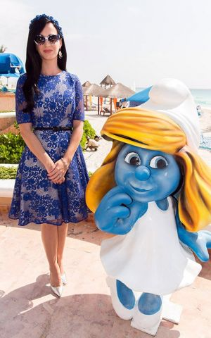 Katy Perry Smurfette Smurfs 2 animatedfilmreviews.filminspector.com