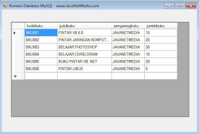 VB .NET - Cara Koneksi Database MySQL
