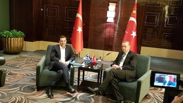 Ο Ερντογάν ζήτησε από τον Τσίπρα την αποχώρηση του Ελληνικού Στρατού από τα νησιά του Αιγαίου!