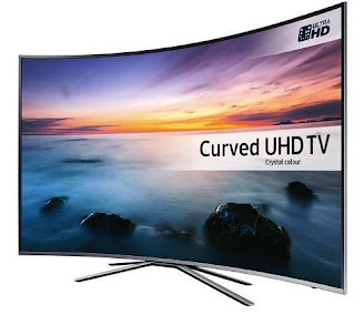 TV LED Samsung UA55KU6500 Curved Smart TV UHD 55 Inch