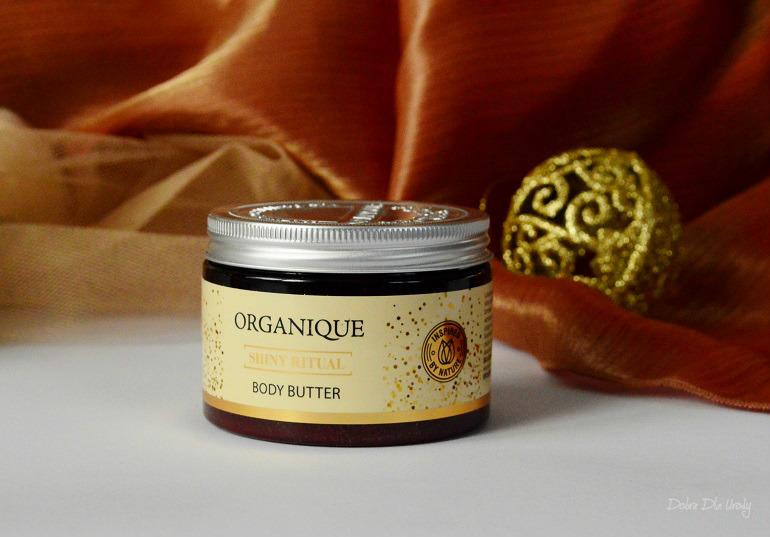 Organique Rytuał Shiny Luksusowe masło do ciała Shiny Ritual recenzja