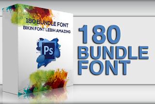 180 Gaya Font Bundle