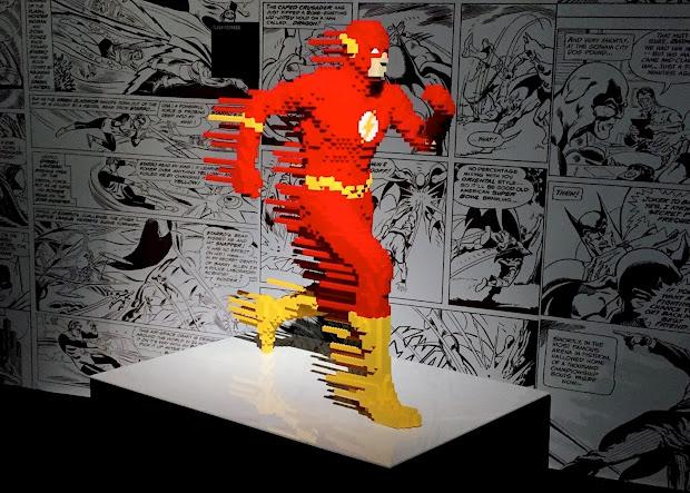 Art Of Brick Dc Super Heroes Pink Julep