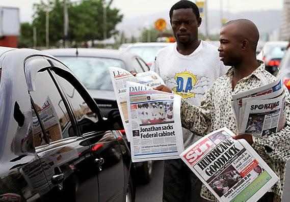 nigerian newspaper vendors