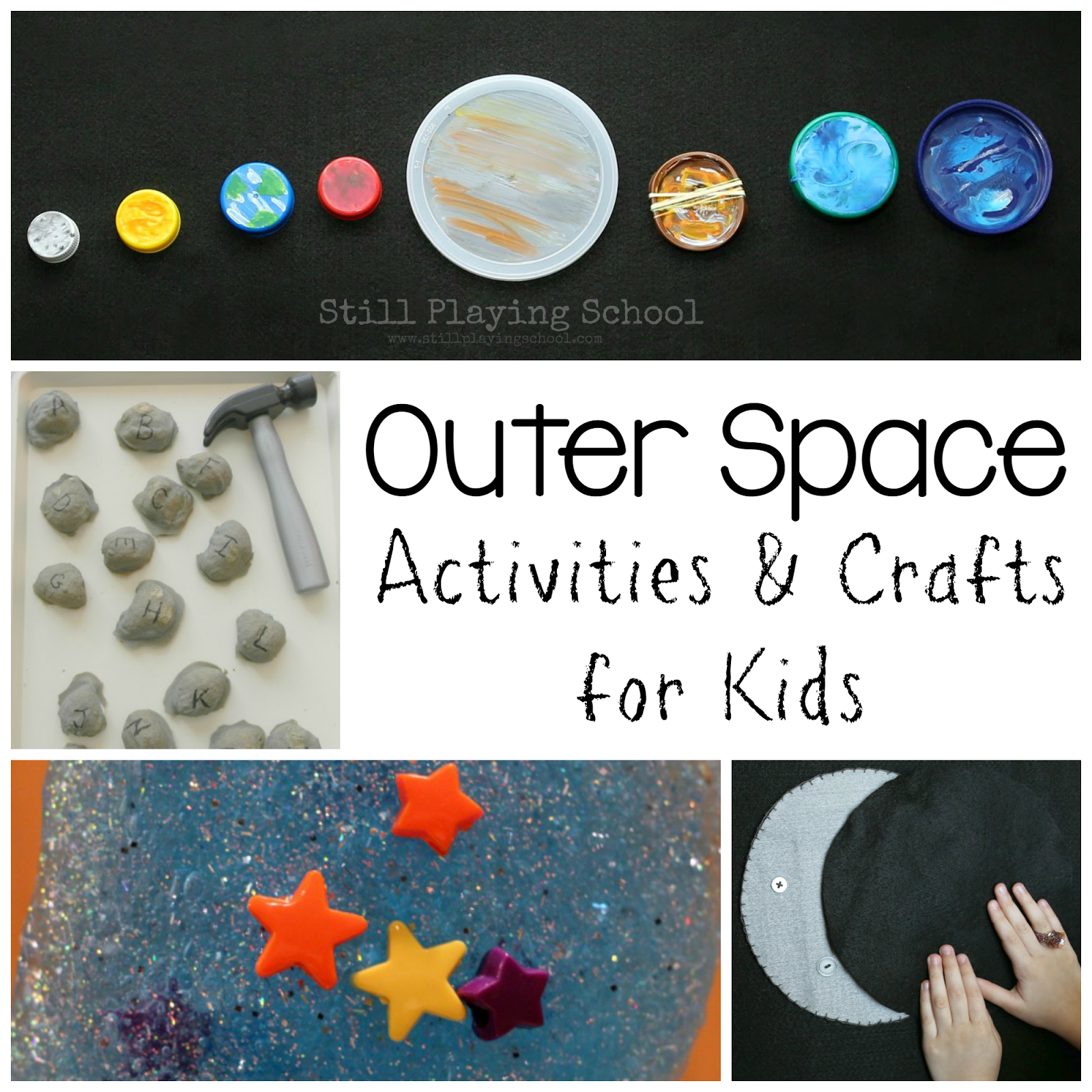Space Crafts For Kids Outer Space Activities For Kids Still Playing School