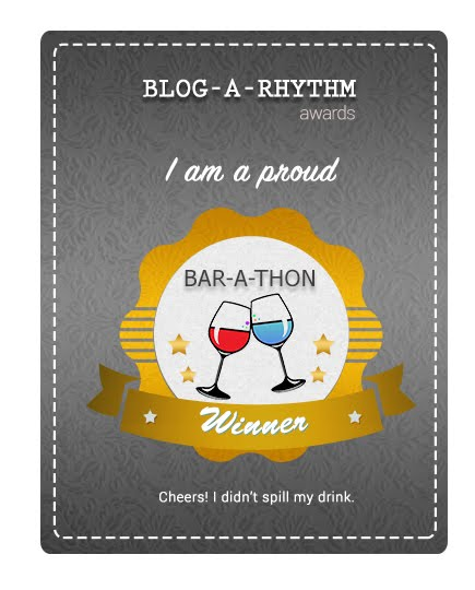 Proud to be Part of Blogarhythm's BarAthon