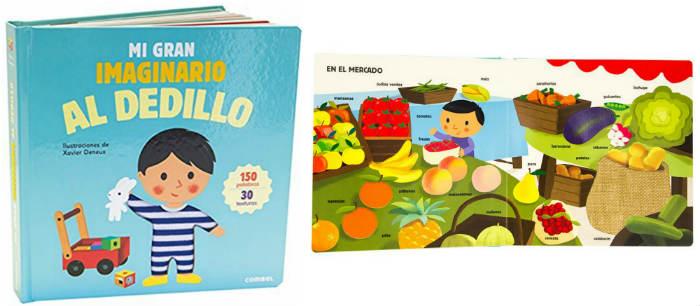 cuentos infantiles recomendados de 0 a 3 años edad mi gran imaginario al dedillo  combel