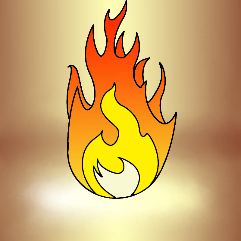 How To Draw Fire - Draw CentralFire Flames Drawing