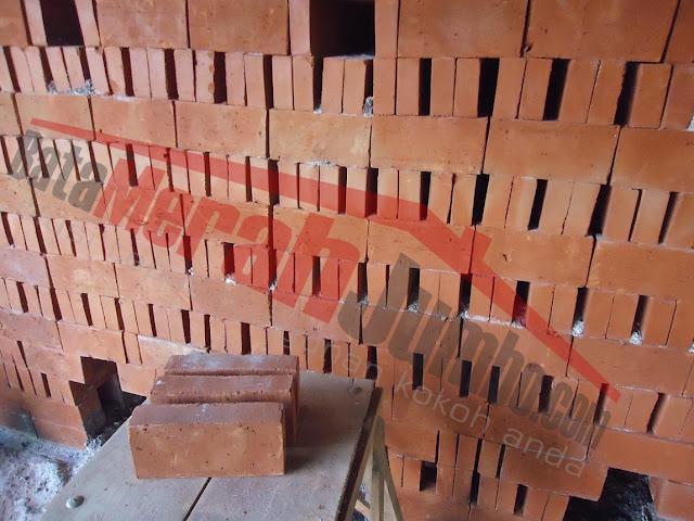 batu bata merah besar