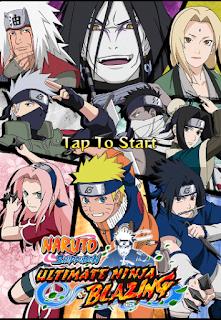 Cara Bermain Naruto Shippuden Ultimate Ninja Blazing