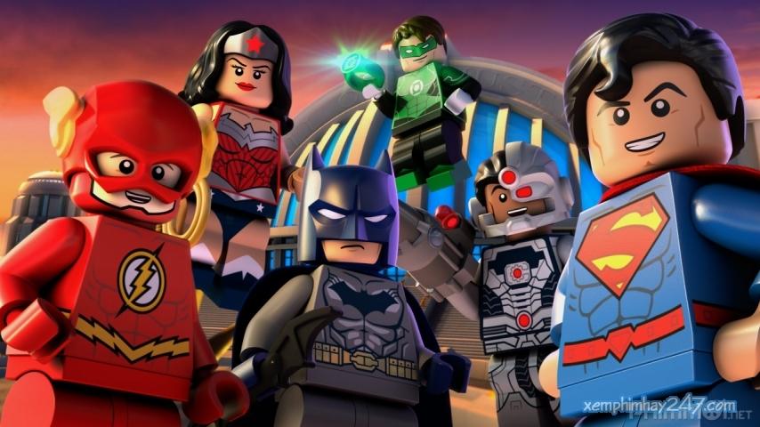 http://xemphimhay247.com - Xem phim hay 247 - Liên Minh Công Lý - Đại Chiến Tại Gotham (2016) - Lego Dc Comics Superheroes: Justice League - Gotham City Breakout (2016)