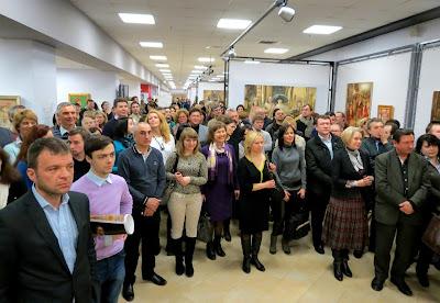 Открытие выставки и презентации артбука Владислава Шерешевского от HUSS посетили 800 ценителей искусства