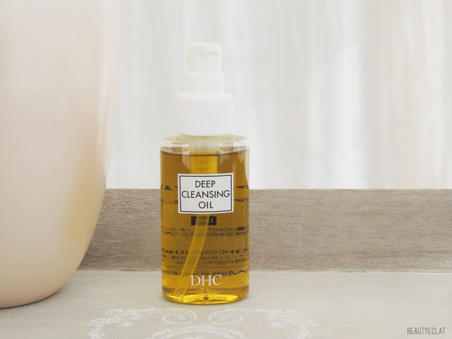 revue avis test huile demaquillante dhc deep cleansing oil