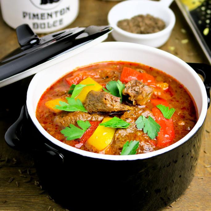 Recept Huisgemaakte goulash van Black Angus-sukadelappen