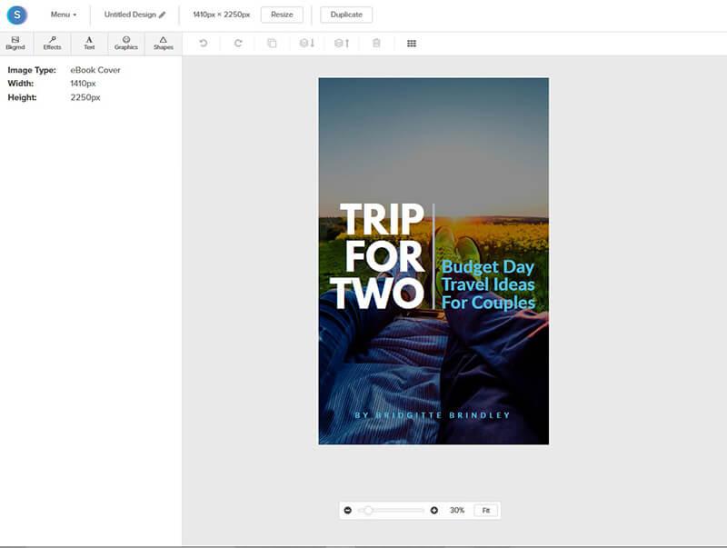 Membuat cover novel online