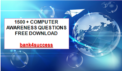 1500+ Computer Awareness Questions PDF Free Download