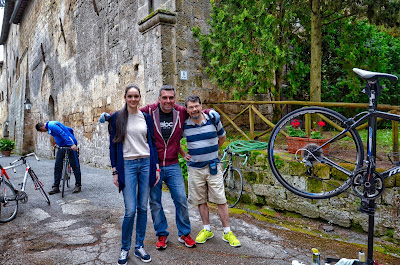 bicycle rental in Orvieto cycling in Umbria Italy
