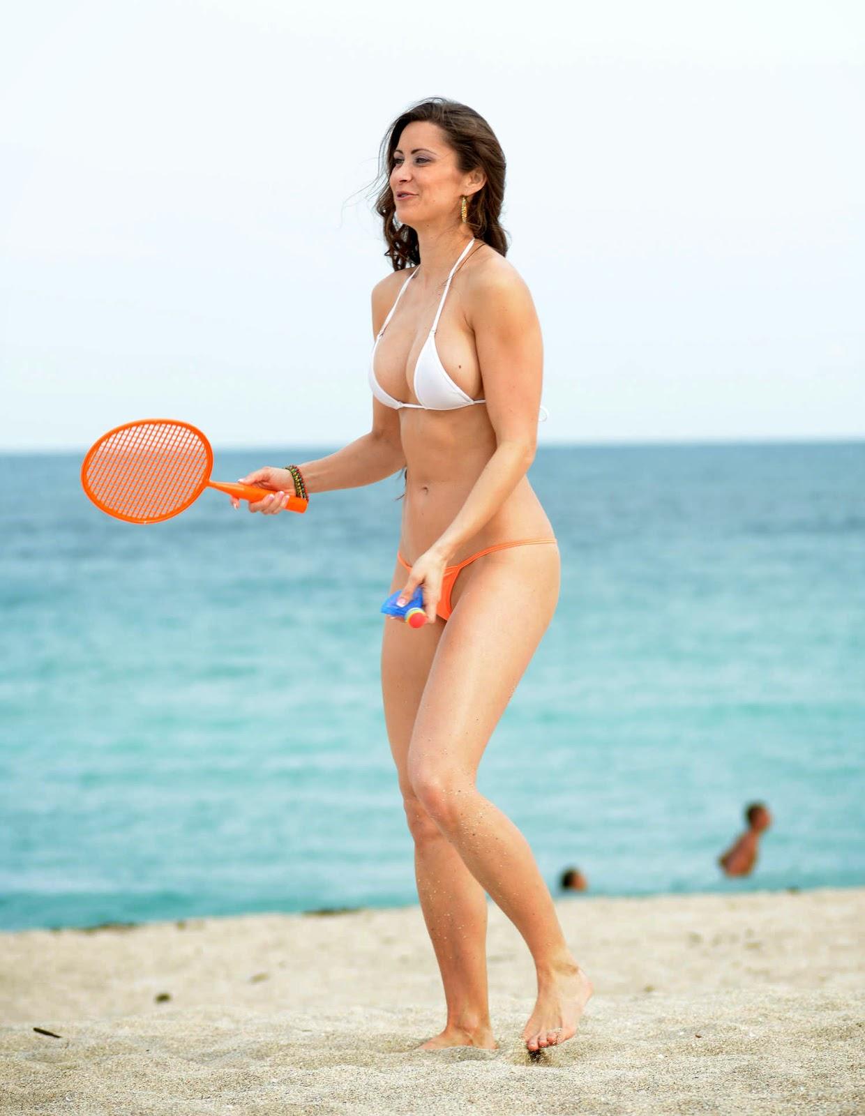 themalaybusinesstribune: The healing touch Anais Zanotti And Coralie Teraiefa Thong Bikini Butt ...