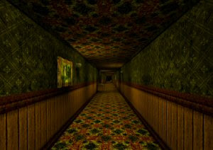 The Corridor free PC indie horror game