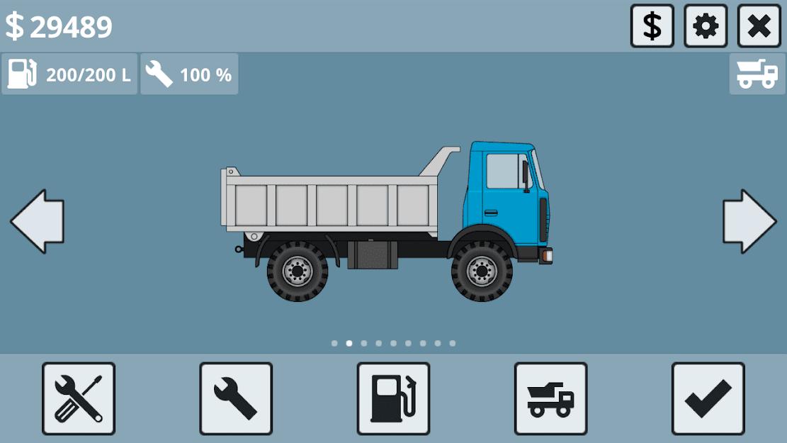 Mini Trucker APK MOD Dinheiro Infinito 2021 v 1.6.1