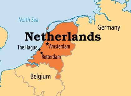 Rotterdam Sehri Hollanda'nin Neresinde