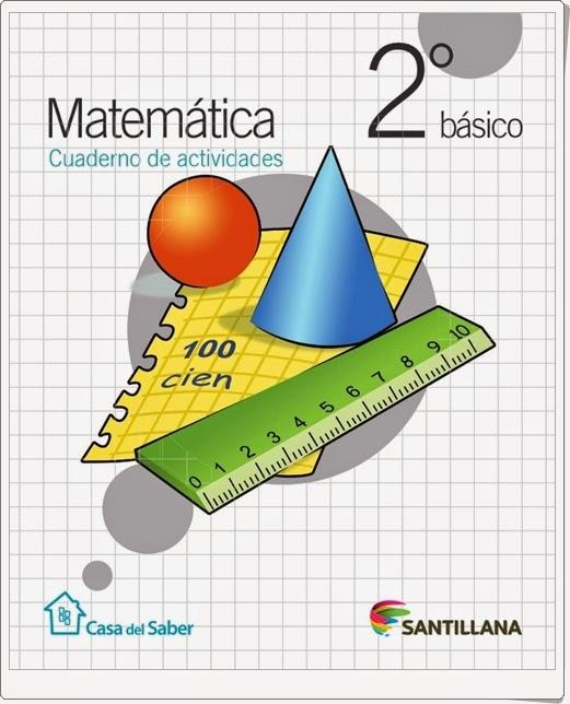 Cuaderno de Matemáticas (2º de Primaria. Santillana)