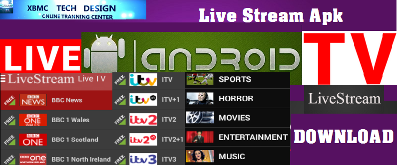 Download LiveStream IPTV Apk For Android Streaming Live Tv Channel on Android    LiveStream IPTV Android Apk Watch Live Tv Channel on Android
