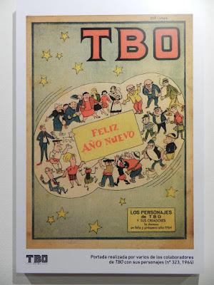 Una muestra de la exposición de TBO.