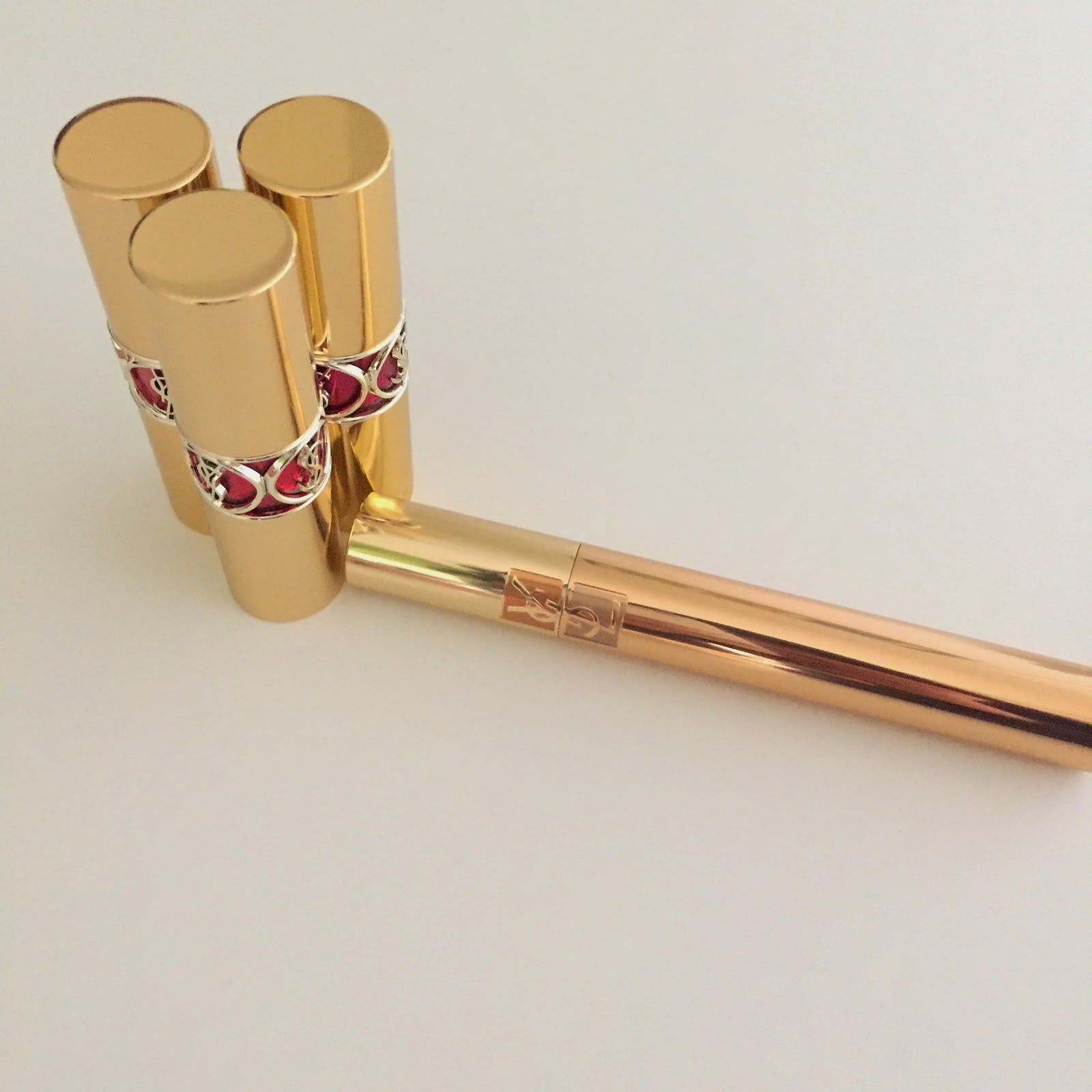 Yves Saint Laurent Lipstick Mascara Review