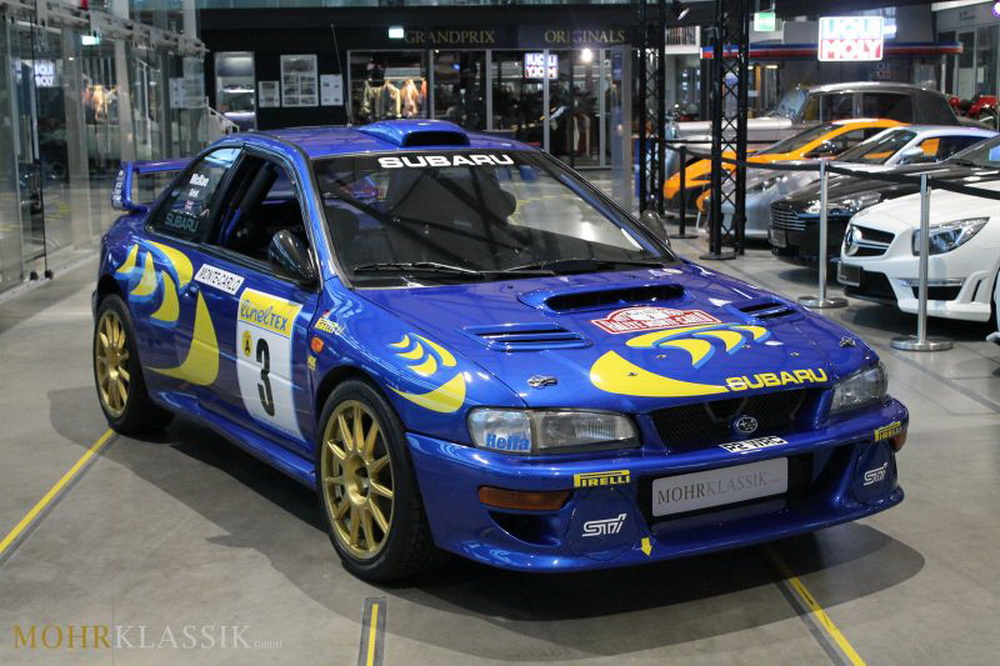 Colin McRae\'s 1997 Subaru Impreza WRC Is Up For Sale | Carscoops