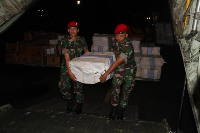 Kopassus kirim Bansos ke Kabupaten Asmat