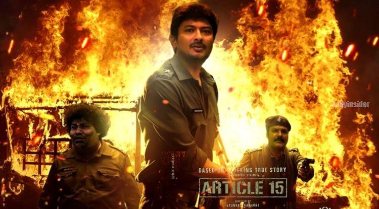 Udhayanidhi Stalin and Arunraja Kamaraj together for 'Article 15' remake