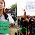 Some of the September 21 Protesters Got Bashed On  Social Media