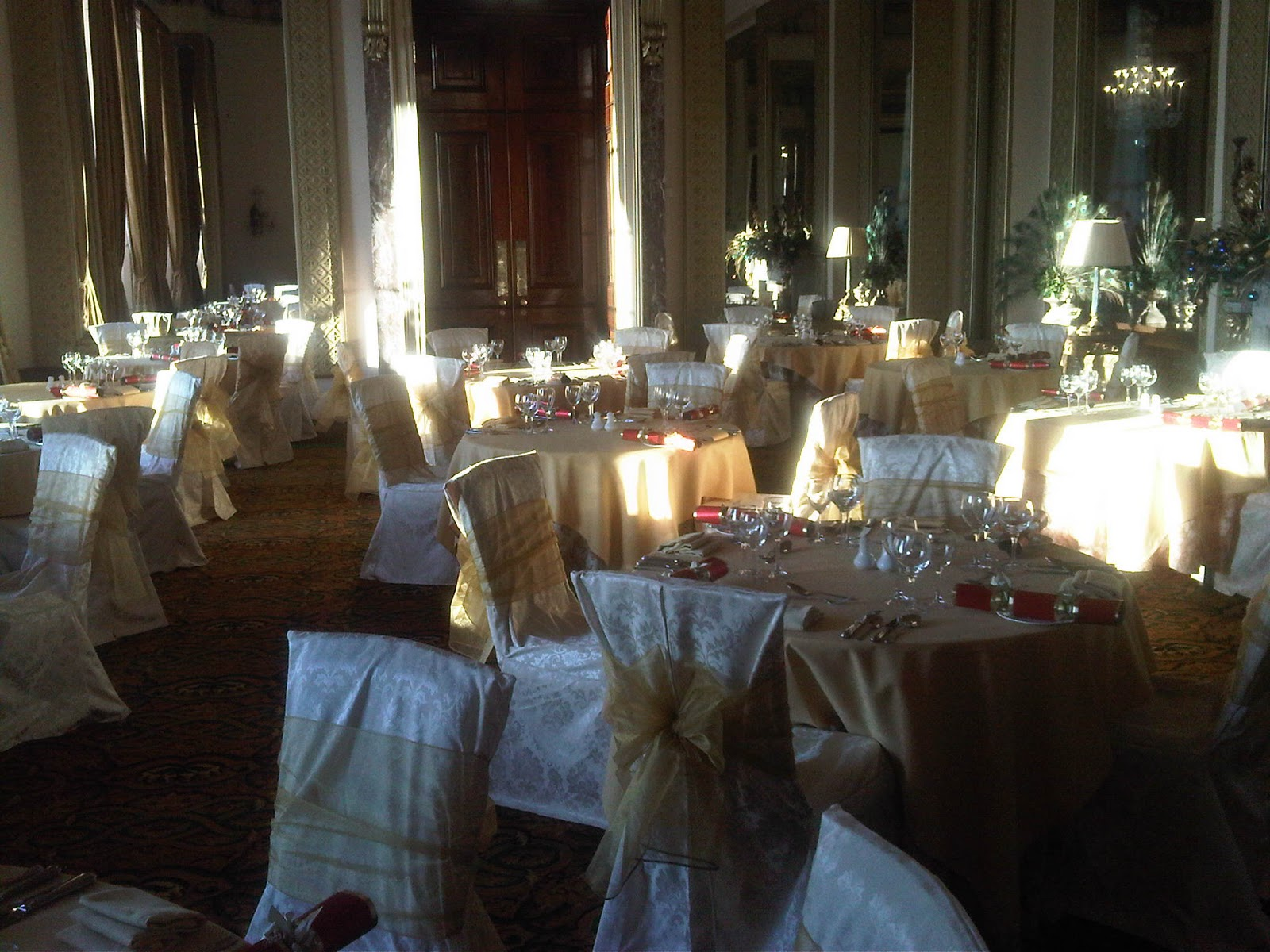 Christmas Wedding Chair Covers Refinishing Cane Back Chairs Simply Bows And Inspiration