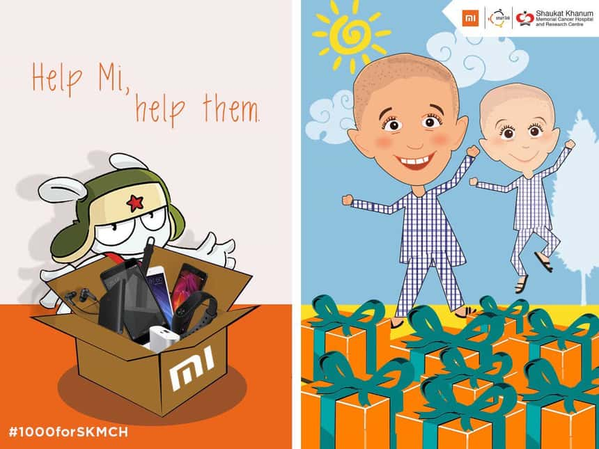 Xiaomi to help SKMCH by donating Rs-1000 on every sale